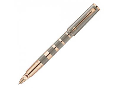 1858538 РУЧКА 5Й ПИШУЩИЙ УЗЕЛ PARKER INGENUITY S TAUPE AND METAL PGT F BLK GB