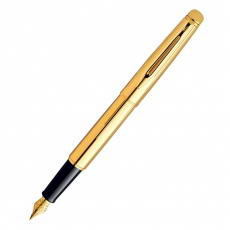 S0840610 Ручка перьевая Waterman Hémisphère Golden Shine GT