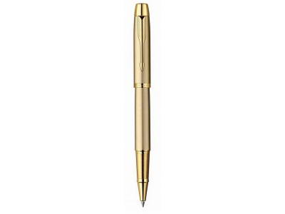R0811700 Ручка-роллер Parker IM Brushed Metal Gold GT